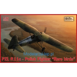 "IBG 32004 - PZL P.11c Polish Fighter - ""Rare Birds"""