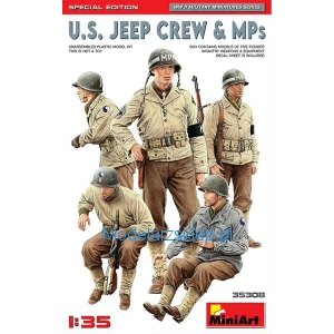 MiniArt 35308 - U.S. Jeep Crew & MPs. Special Edition