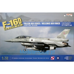 Kinetic K72002 - F-16D Block 52+ Fighting Falcon Polish Air Force / Hellenic Air Force