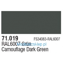 Vallejo 71019 - Camouflage Dark Green 17ml
