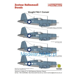 Techmod 72161 - Vought F4U-1 Corsair