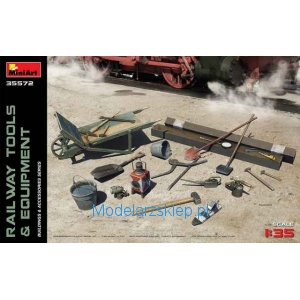MiniArt 35572 - RAILWAY TOOLS & EQUIPMENT
